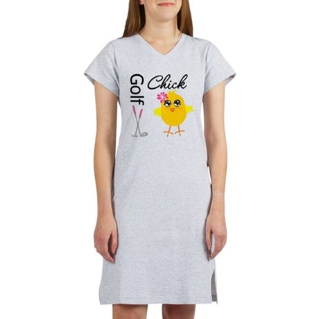 Golf Chick v2 Women's Nightshirt