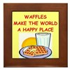 waffles Framed Tile