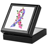 Christmas Lights Ribbon SIDS Keepsake Box