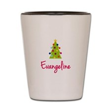 Christmas Tree Evangeline Shot Glass