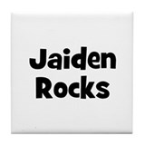 Jaiden Rocks Tile Coaster