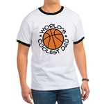 World's Coolest Basketball Dad Ringer T