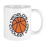World's Coolest Basketball Dad Mug