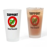 Support DF Dermal Fibrosis R&amp;amp; Drinking Glass