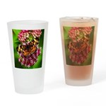Pearl Crescent Drinking Glass
