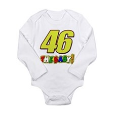 VR46baby Long Sleeve Infant Bodysuit