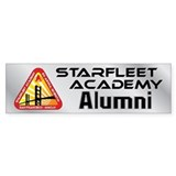 Starfleet Academy Bumper Sticker
