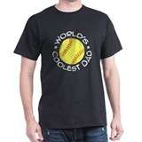 World's Coolest Softball Dad T-Shirt