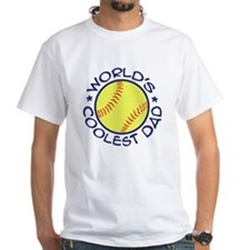 World's Coolest Softball Dad Shirt
