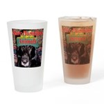 Save Homeless Animals Drinking Glass