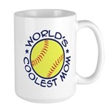 World's Coolest Softball Mom Mug