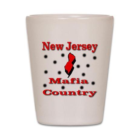 New Jersey Mafia Country Shot Glass