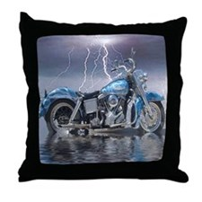 1969 Shovelhead Throw Pillow