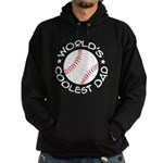 World's Coolest Baseball Dad Hoodie (dark)