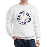 World's Coolest Baseball Dad Sweatshirt