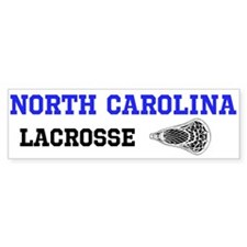 North Carolina Lacrosse Bumper Sticker