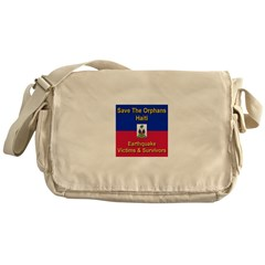 Save The Orphans Messenger Bag