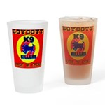 Boycott Made In China K9 Kill Drinking Glass