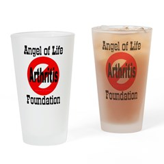 No Arthritis Drinking Glass