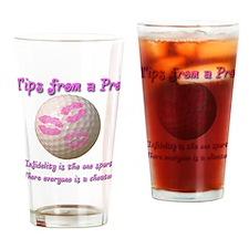 Infidelity Drinking Glass