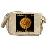 Wishing To Be Your's Forever Messenger Bag