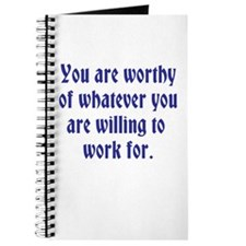 You Are Worthy Journal