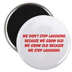 growing old merchandise Magnet