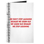growing old merchandise Journal