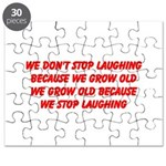 growing old merchandise Puzzle