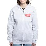 growing old merchandise Women's Zip Hoodie