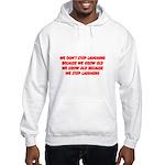 growing old merchandise Hooded Sweatshirt