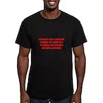growing old merchandise Men's Fitted T-Shirt (dark