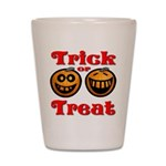 Trick or Treat Pumpkins Shot Glass