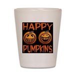 Happy Pumpkins Shot Glass