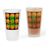 Trick or Treat 9 Great Pumpki Drinking Glass