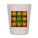 Trick or Treat 9 Great Pumpki Shot Glass