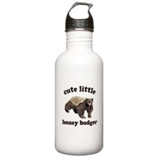 Cute Lil Honey Badger Water Bottle