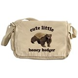Cute Lil Honey Badger Messenger Bag