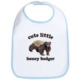 Cute Lil Honey Badger Bib