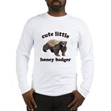 Cute Lil Honey Badger Long Sleeve T-Shirt