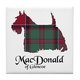 Terrier - MacDonald of Glencoe Tile Coaster