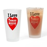 Funny Romance and sexuality Drinking Glass