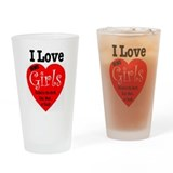 Romance and sexuality Drinking Glass