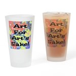 Art For Art's Sake Drinking Glass