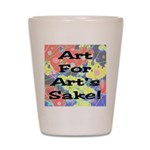 Art For Art's Sake Shot Glass