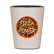 Pizza Power Shot Glass