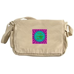 Love Conceived This Child Messenger Bag