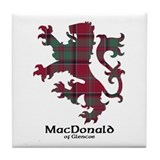 Lion - MacDonald of Glencoe Tile Coaster