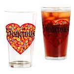 Vivacious Drinking Glass