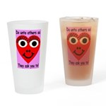 Golden Rule Drinking Glass